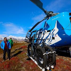 First US heli-bike adventure launches in Alaska