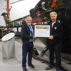 Helicopter Museum recognised for education value