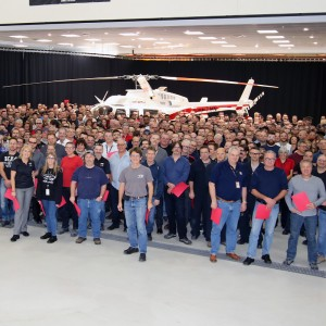 Bell completes milestone 5000th helicopter at Mirabel