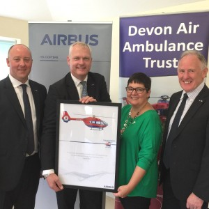 Devon Air Ambulance buy Airbus H145