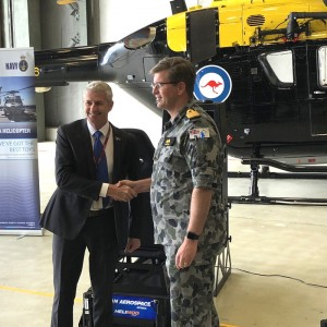 Ryan Aerospace sells three VR helicopter simulators to Royal Australian Navy