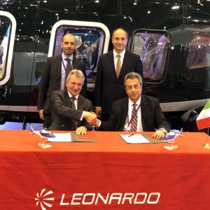 Sloane extend Leonardo distributorship and sign for two more AW109s