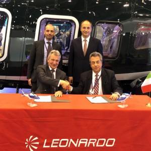 Sloane extend Leonardo distributorship and sign for two more AW109s