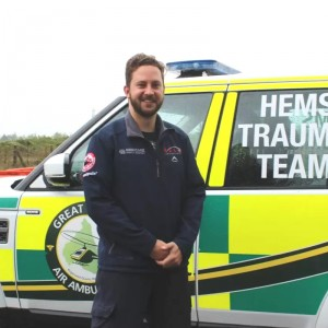 South African doctor learns from Great North Air Ambulance in UK