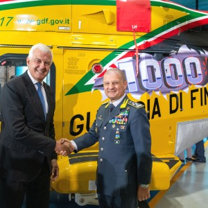Leonardo delivers its 1,000th AW139 helicopter