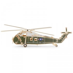 The Official 2019 White House Christmas Ornament is a helicopter