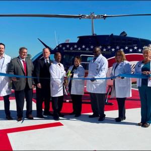 Phoebe Putney Health System opens new helipad