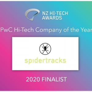 Spidertracks named as finalist for the 2020 New Zealand Hi-Tech Awards