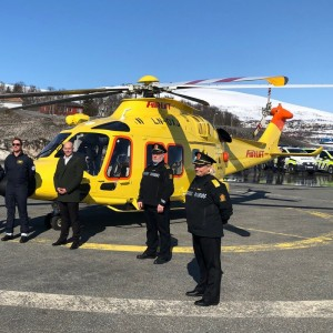 Airlift opens new Tromsø base to support Police