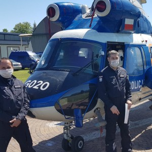 Polish Police retire Kania helicopter to museum