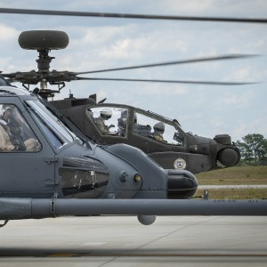 Jolly Green II, Apache fly together in joint test