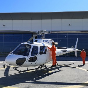 Four new Airbus H125s for Norwegian operators in one week