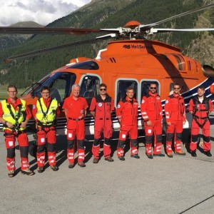 Heliservice working with Rega on AW169 service introduction
