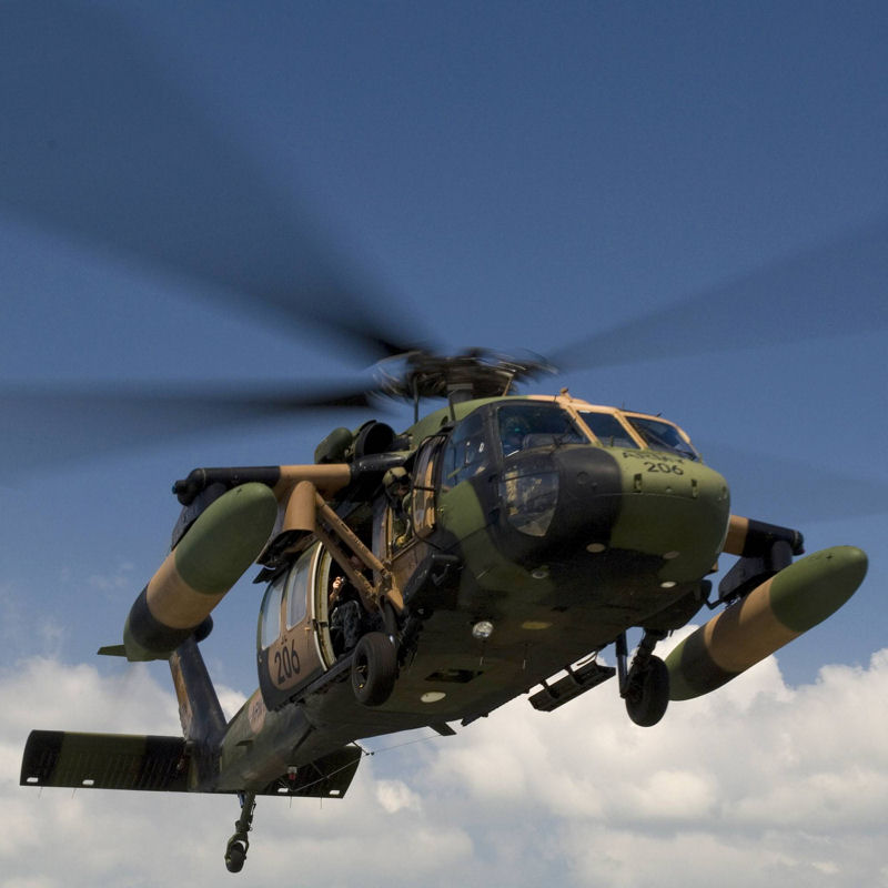 Ace Aero Receives PMA for EO/IR Sensor Mount on UH-60