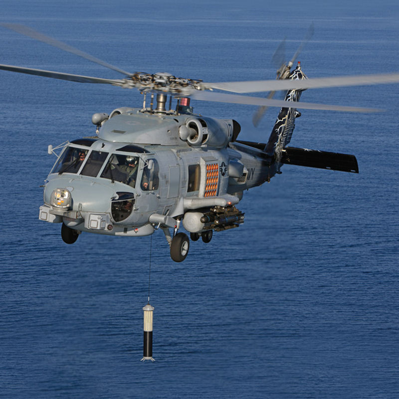 Thales wins MH-60R ASW Sonar contracts