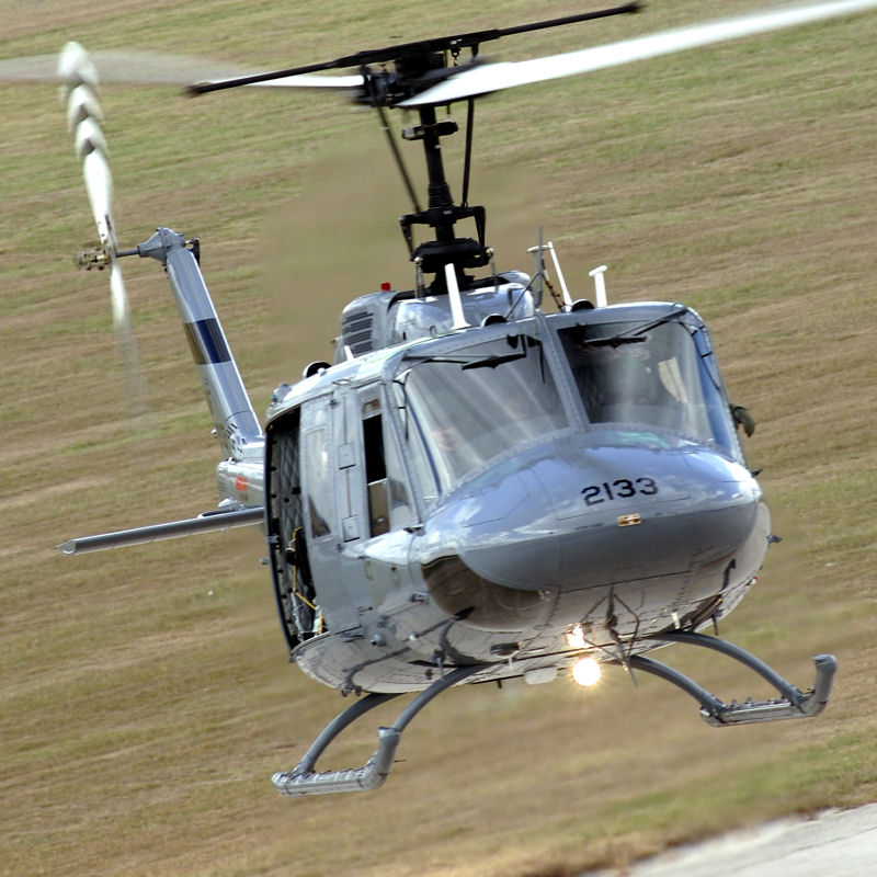 Pinal County Sheriff receives UH-1H with upgrades to tail IoM and fin
