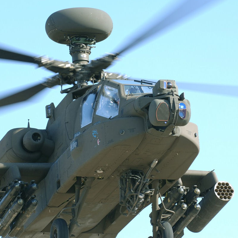 EFW awarded $76M contract for AH-64 helmets