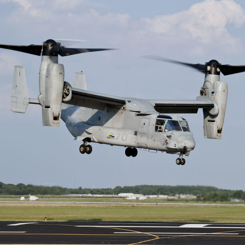Honeywell awarded $9.9M contract for V-22 Spare Parts