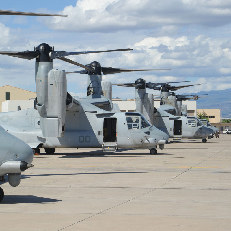 Bell awarded $17M contract to procure MV-22 apparatus