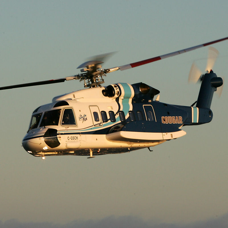 Cougar Helicopters makes history with first all-female crew