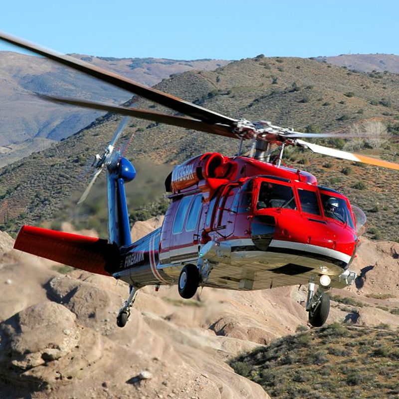 Colorado firefighters sign for S70i Firehawk