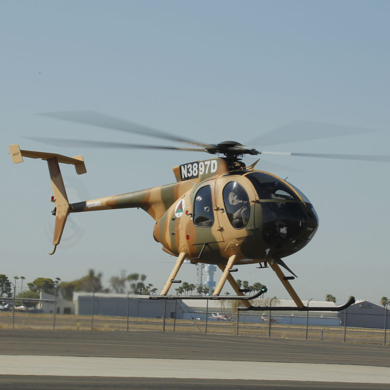 MD Helicopters awarded $14.5M contract to support Afghan MD530F fleet