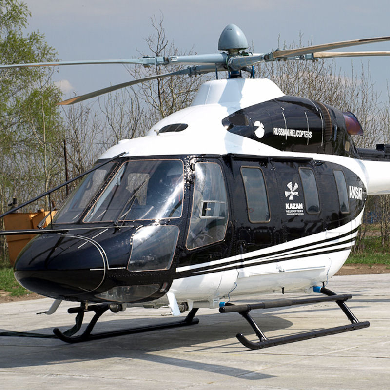 STLC hands over Ansat helicopter to RusAvia
