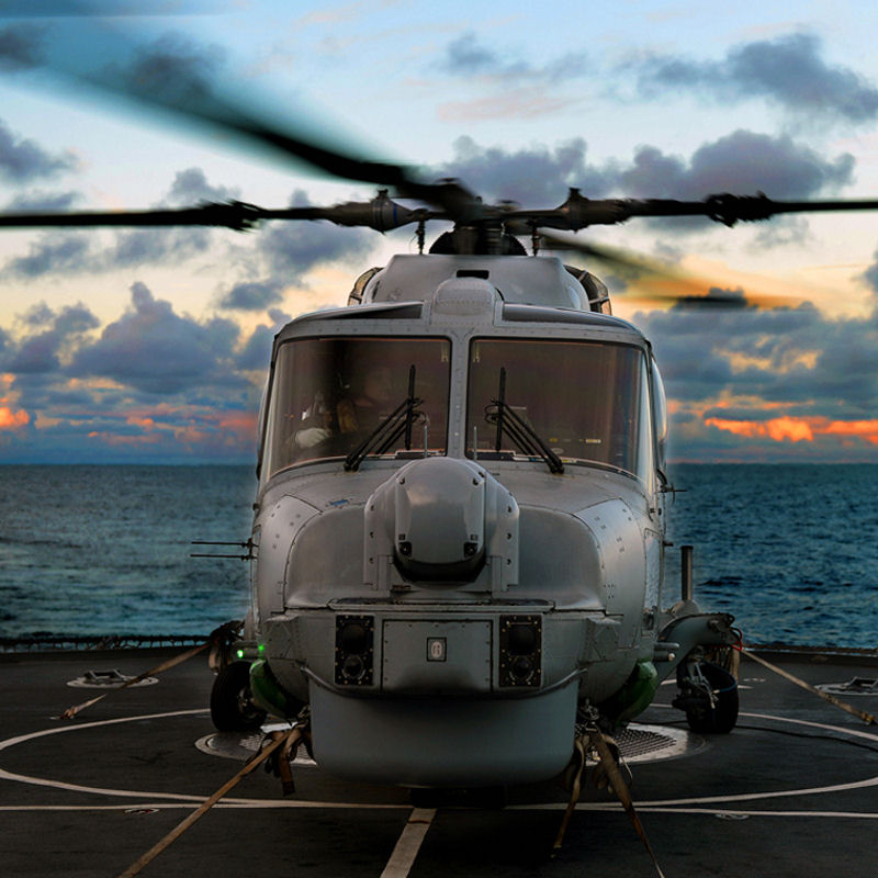 Portuguese Navy receives first upgraded Lynx Mk95A