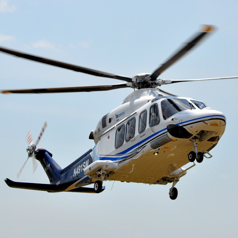 New AW139 lasts just two weeks with Omni in Brazil