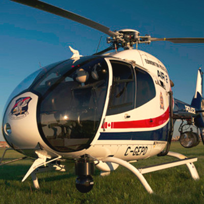 Edmonton Police celebrates 20 years in the air