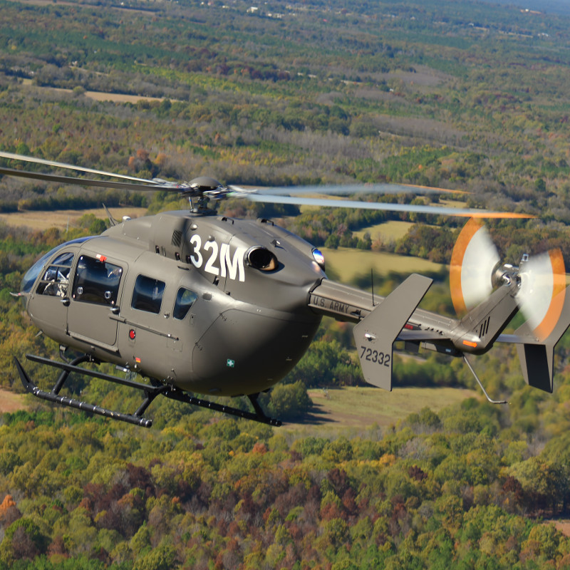 Airbus awarded $119M contract for support services of UH-72