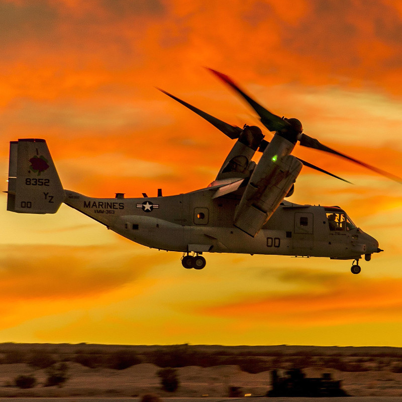 Raytheon awarded $17M contract for support of V-22 Software Support Activity systems