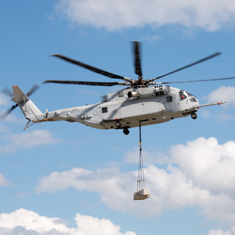 Sikorsky awarded $14M for config settings to CH-53K test aircraft