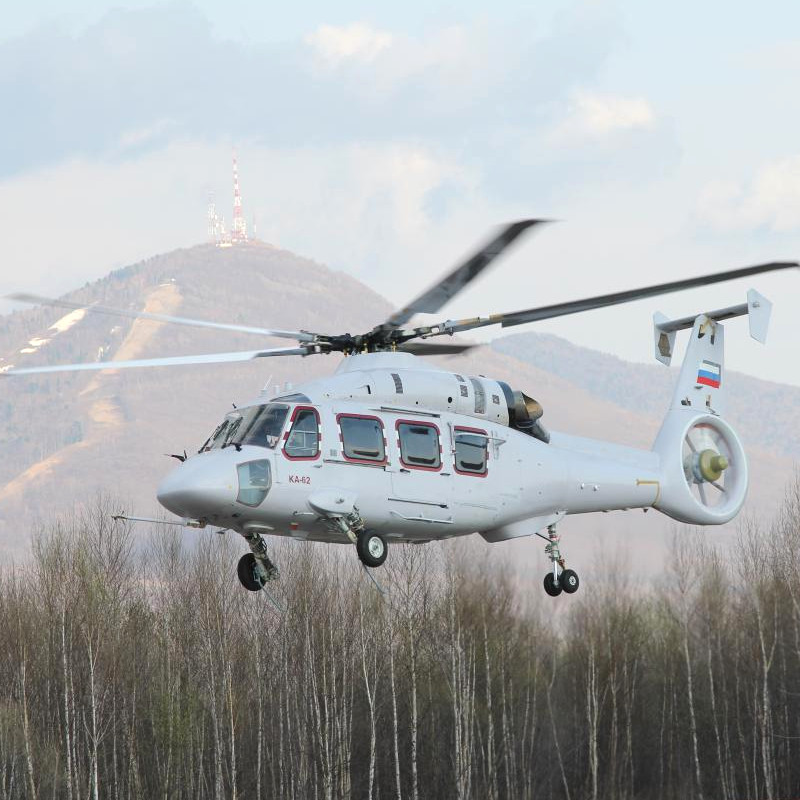 Rostec to Grow Parts for the Ka-62 Engine