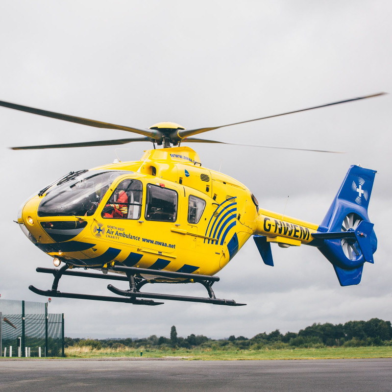 North West Air Ambulance transfers 100th unit of blood