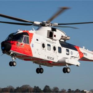 Leonardo delivers first Norwegian SAR AW101