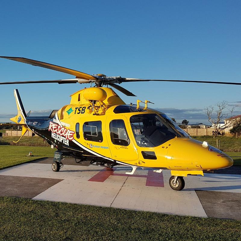 Taranaki Rescue to replace AW109 with BK117