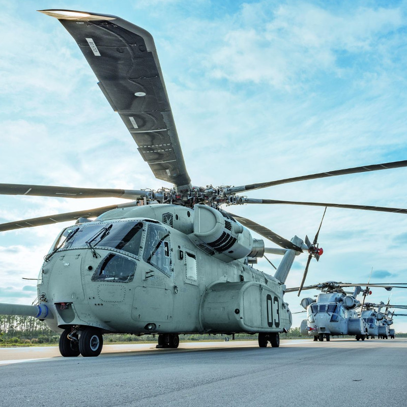 Sikorsky awarded $48M parts LRIP order for CH-53K