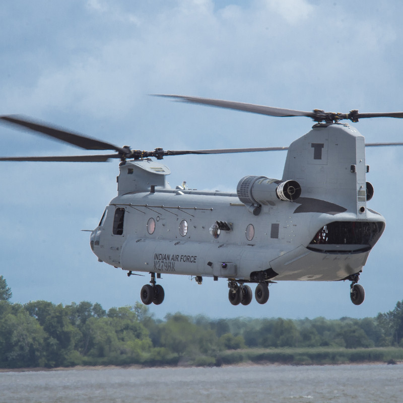 Kaman Completes Delivery of 1500th Inlet Unit for Boeing CH-47 Program