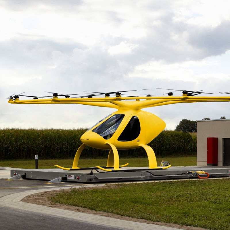 Volocopter Partners with Urban Movement Labs