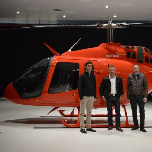 Bell delivers first 505 Jet Ranger in Asia Pacific region