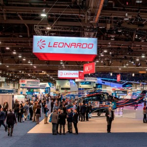 Leonardo celebrates helicopter orders at Heli-Expo