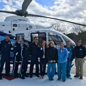 UNC helicopter now based at Nash UNC Health Care