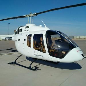 DART Aerospace certifies lightweight Bell 505 Bearpaws