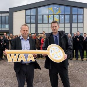 Wiltshire Air Ambulance break-in new helipad