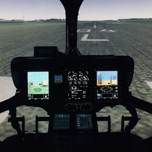 Coptersafety's H145 simulator first in the world to be certified with Helionix