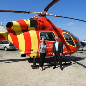 New Trustee for Essex & Herts Air Ambulance