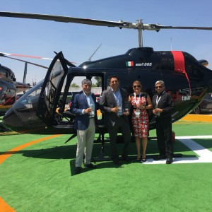 First Bell 505 delivered to Mexico