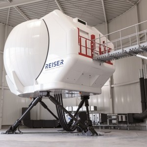 Barco powered H145 simulator certified to level D