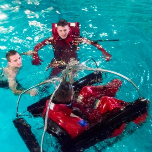 Coast Guard Cadets Redesign Helicopter Rescue Basket
